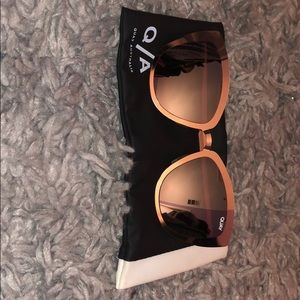 Quay Australia Sunglasses with Original Case